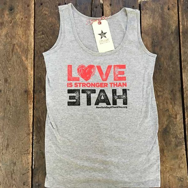 Love Is Stronger Than Hate Tank
